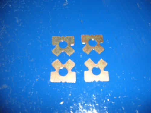 Escort Mk1, Mk2 steering rack locking tabs