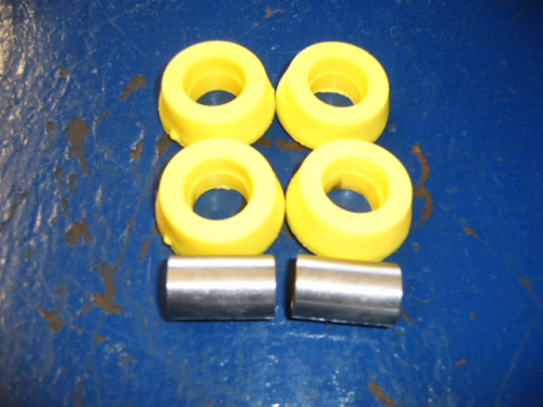 Outer track control arm poly bushes