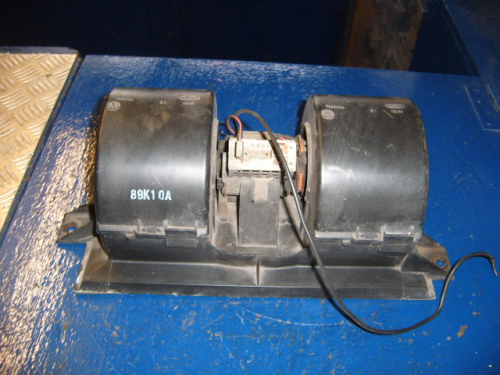 Escort Mk3, Mk4 all models heater fan motor