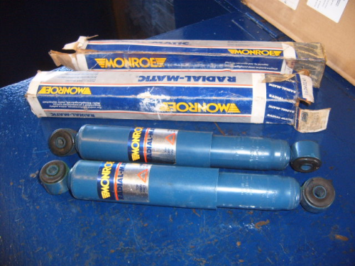 Cortina Mk3 Monroe rear shockers