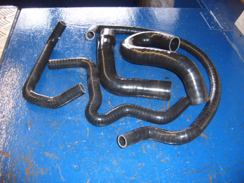 Escort Mk2 RS2000 silicone coolant pipes