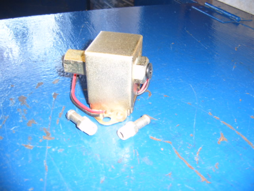Solid state electric fuel pump.