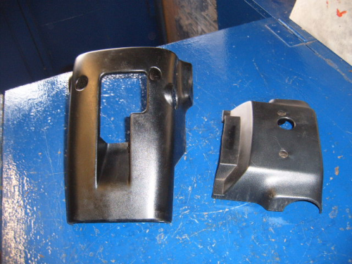Escort Mk4 RS turbo etc steering column cowlings