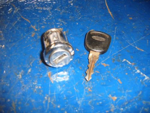 Escort Mk3 RS turbo etc ignition barrel and key