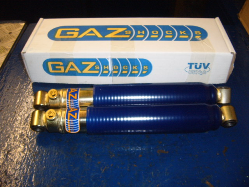 Escort Mk1 early Gaz rear shockers