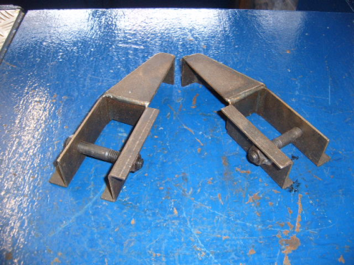 Escort Mk1, Mk2 anti tramp bar body brackets